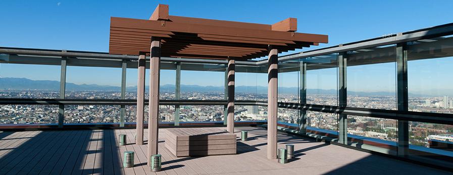 パークシティ武蔵小杉ステーションフォレストタワーのスカイテラス