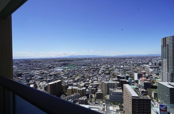 パークシティ武蔵小杉ザ・グランドウイングタワーの眺望