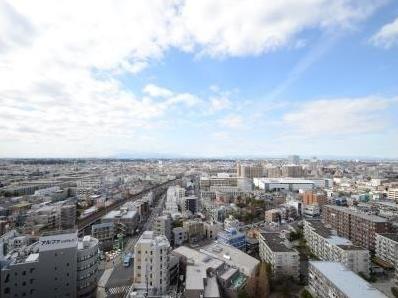 パークシティ武蔵小杉 ザ ガーデンの眺望