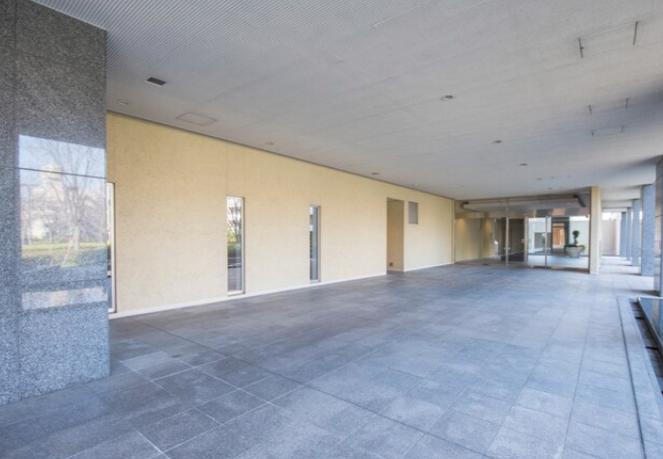 ラゾーナ川崎レジデンス・セントラルタワーのエントランス