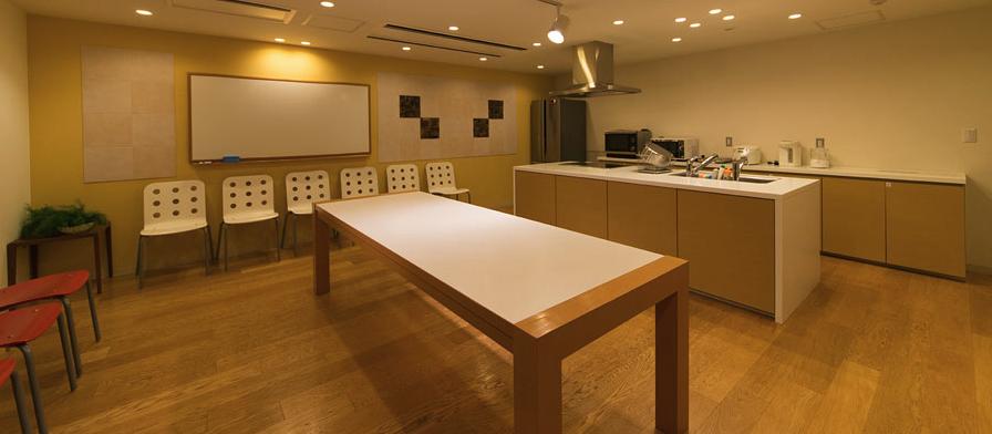 パークシティ武蔵小杉ミッドスカイタワーのキッチンリビング