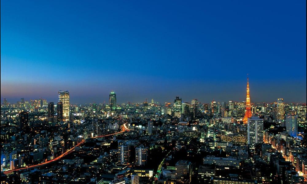ラトゥール三田からの夜景