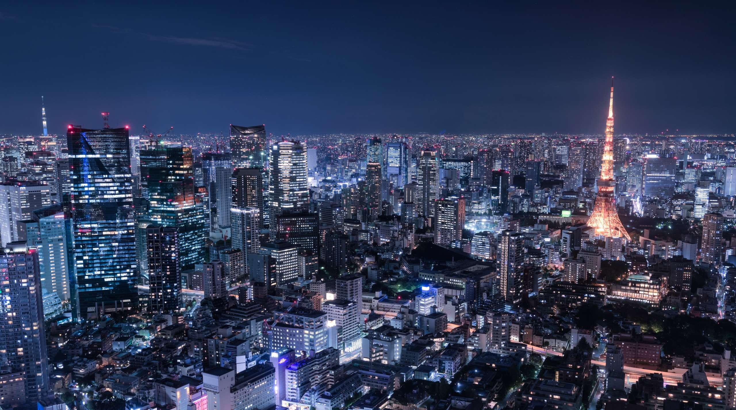 都心の夜景