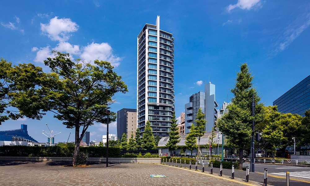ラ・トゥール渋谷神南のマンション外観