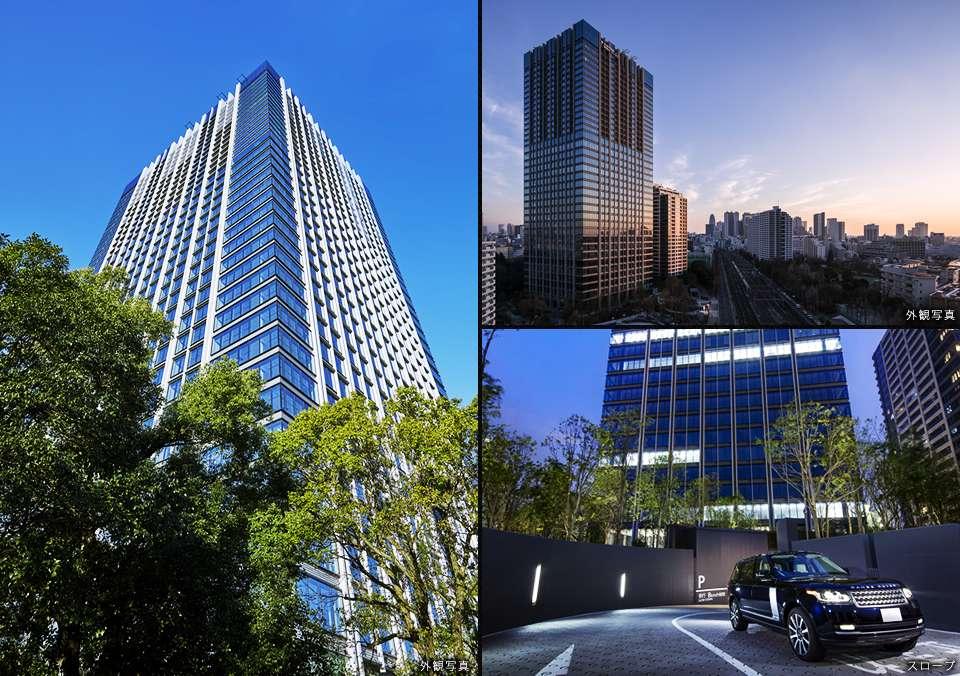 ラトゥール新宿ガーデンの外観