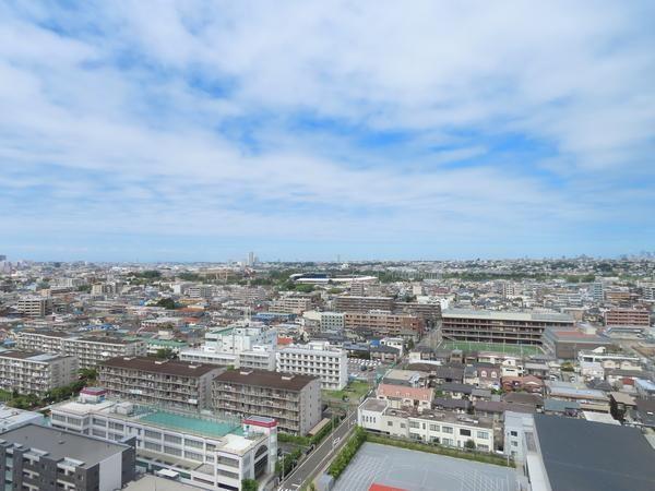 パークシティ武蔵小杉 ザ ガーデンからの眺望