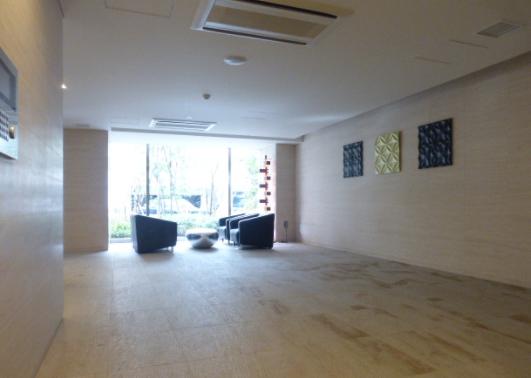 ザ・パークハウス赤坂レジデンスのロビー