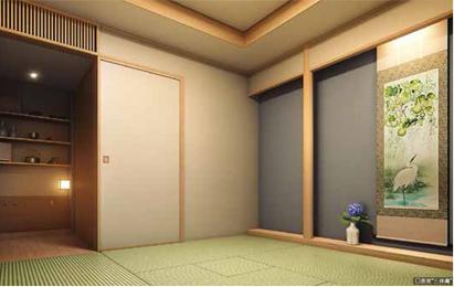 パークシティ武蔵小杉 ザ ガーデンの和室