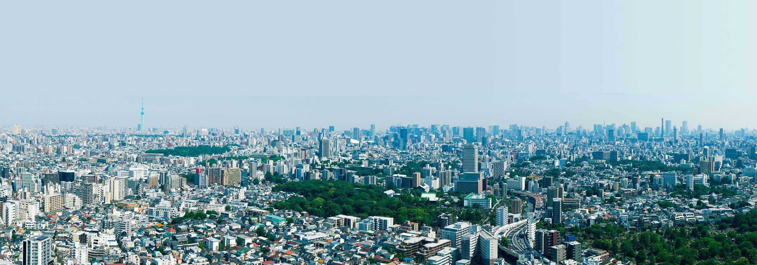 アウルタワーからの眺望