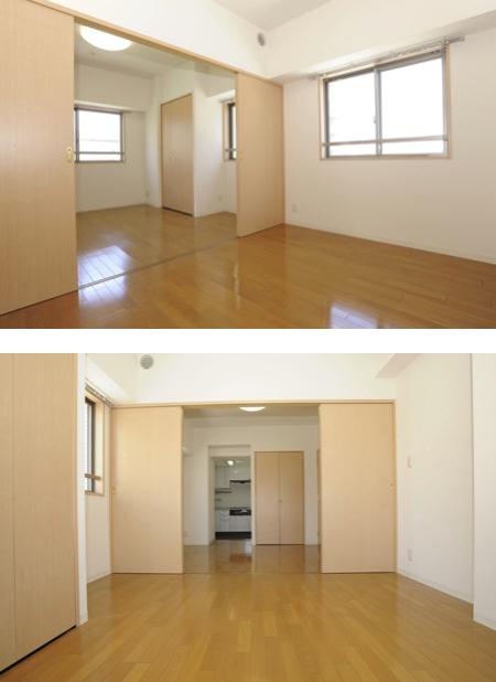 カスタリア新富町Ⅱの室内