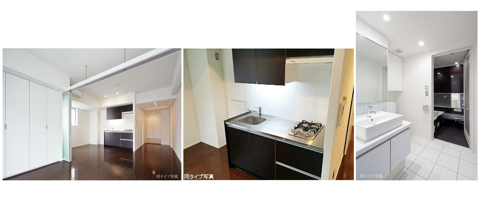 コンフォリア西新宿の室内(1LDK)