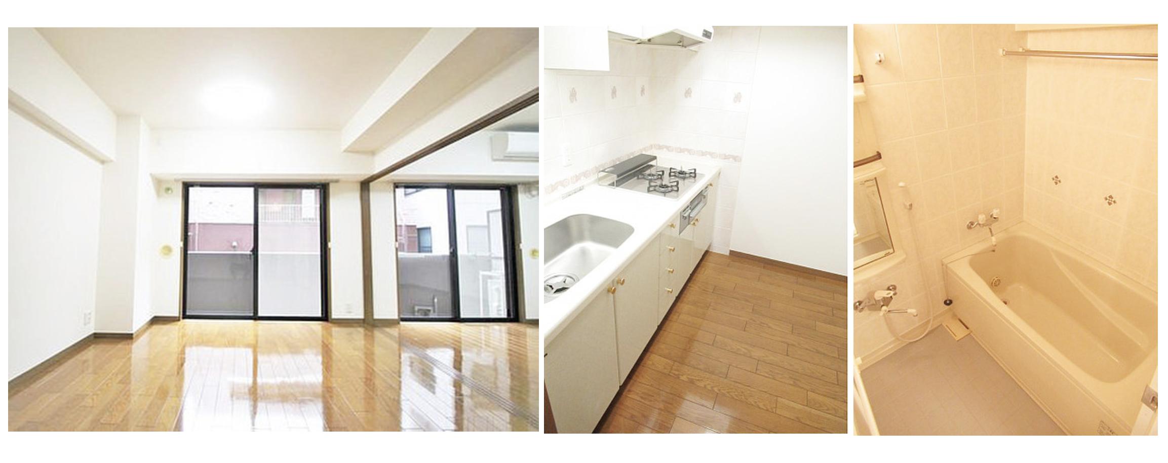ライオンズシティ西新宿の室内(2LDK)