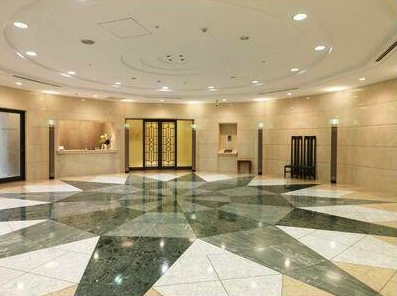 グリーンパーク赤坂のエントランスホール