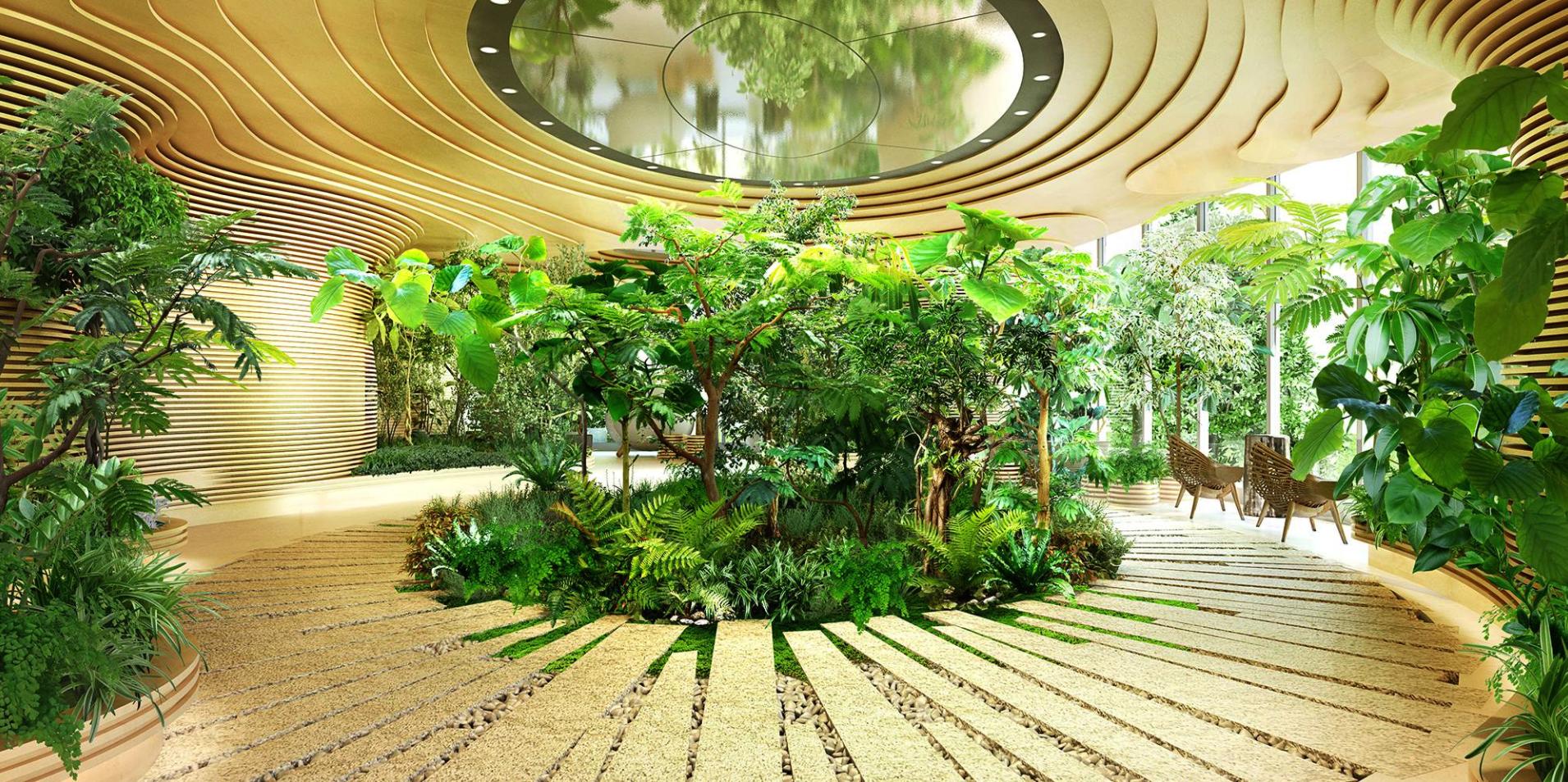 ザ・コート神宮外苑のヒーリングフォレストルーム