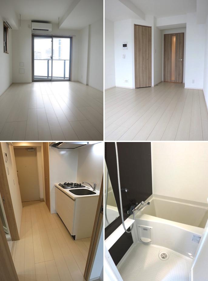 マルク神楽坂の室内(1K・10階)