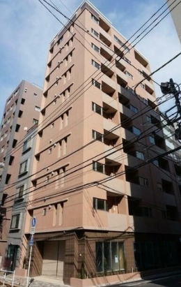 ISSEI Residence 神楽坂の外観