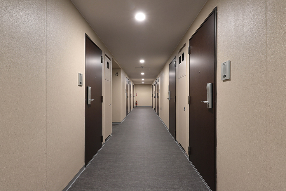 ディームス神楽坂の内廊下