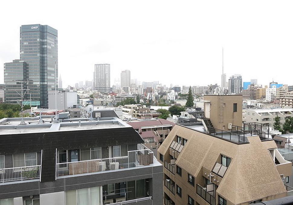 マルク神楽坂の眺望(1K・10階)