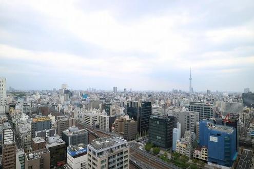 東京タイムズタワーの眺望