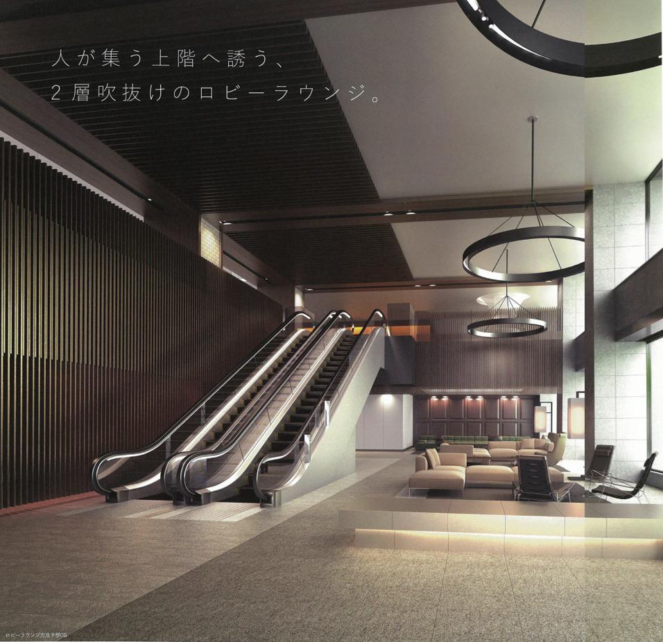 パークホームズ豊洲のエントランスホール