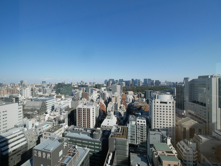 紀尾井町ガーデンタワーの眺望