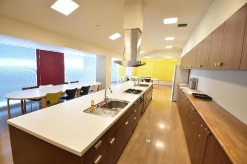 パークハウス清澄白河リバーサイドのキッチンスタジオ