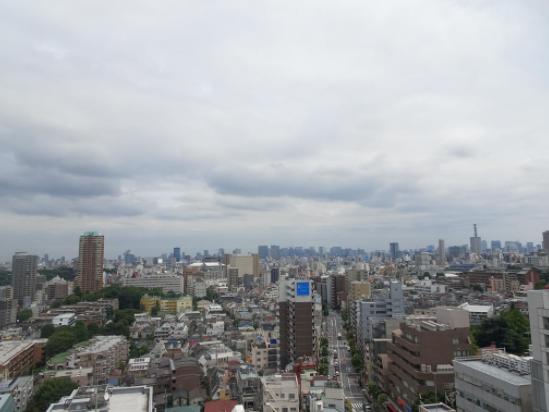 センテニアルタワーの眺望