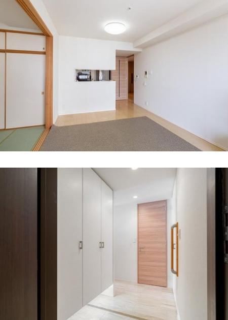 クレッセント川崎タワーの室内