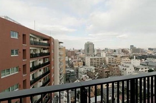 SK-ONE市ヶ谷の眺望(1K)
