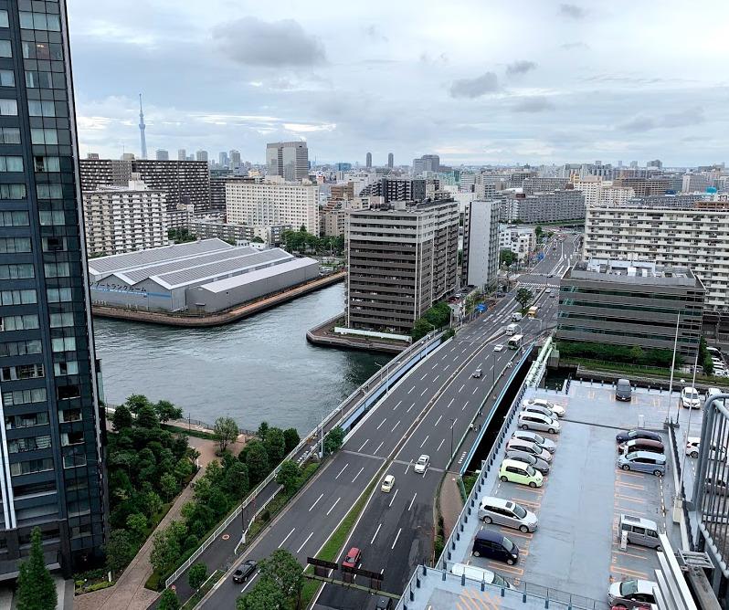 東京フロントコートからの眺望