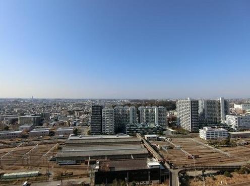 パークシティ新川崎の眺望
