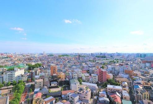 ウエストレジデンス大崎の眺望