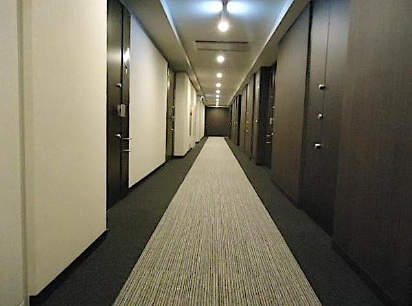 プレミアスイート外苑の杜の内廊下