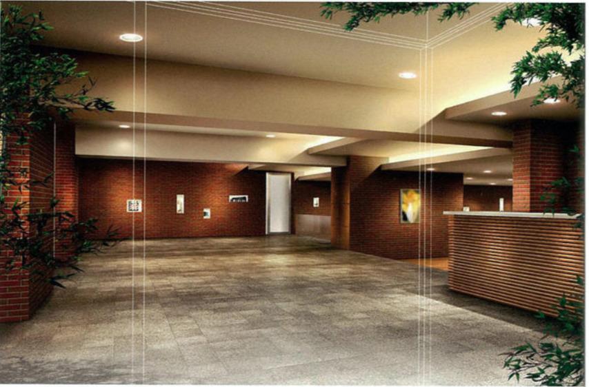 スターコート豊洲のエントランスホール