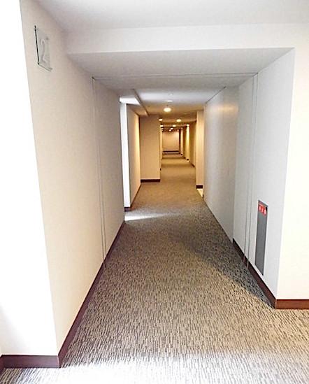 ランテンヌ四谷の内廊下