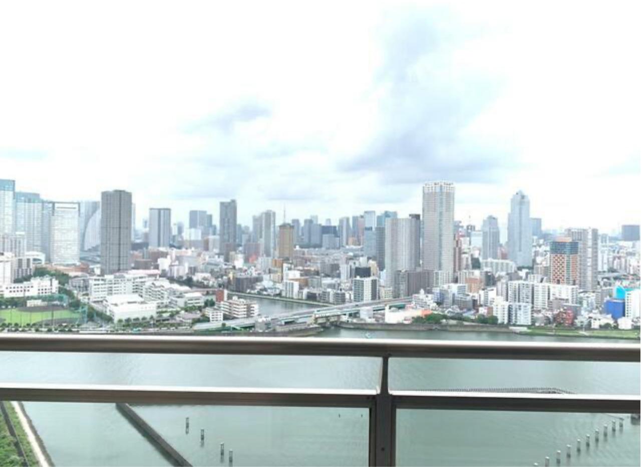 キャナルワーフタワーズウエストタワーからの眺望