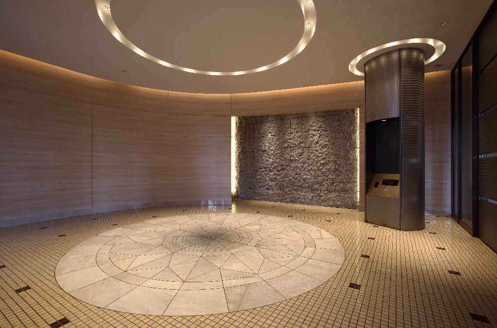 パークタワー晴海のエントランスホール