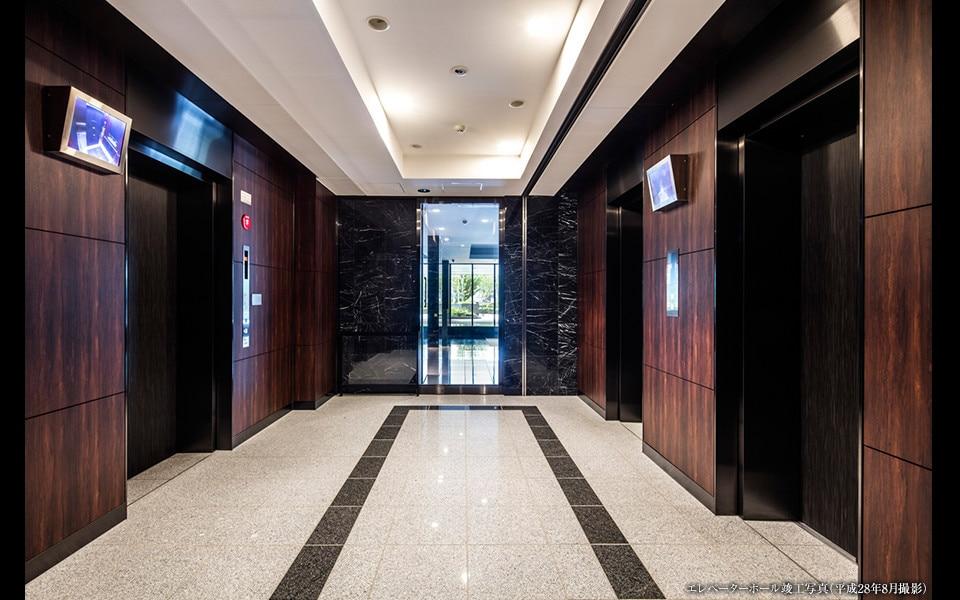 ベイサイドタワー晴海のエレベーターホール