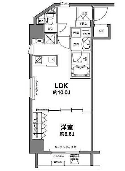 Floor-plan(1LDK)