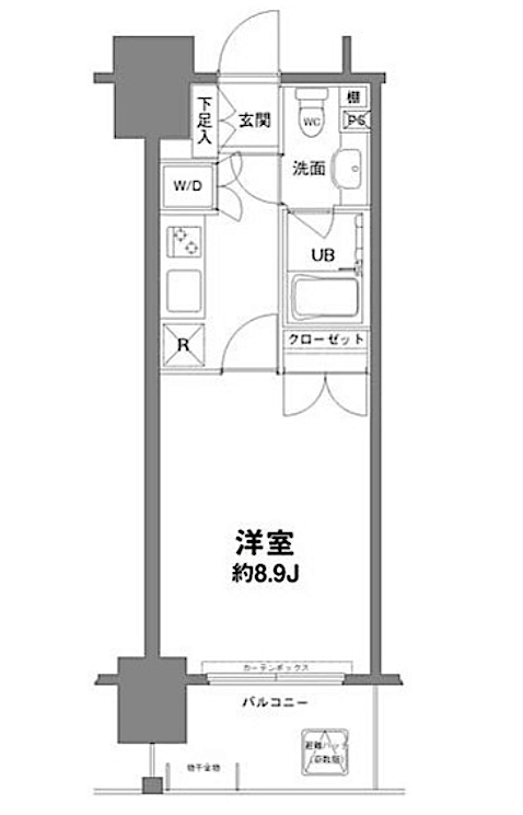 Floor-plan-1K