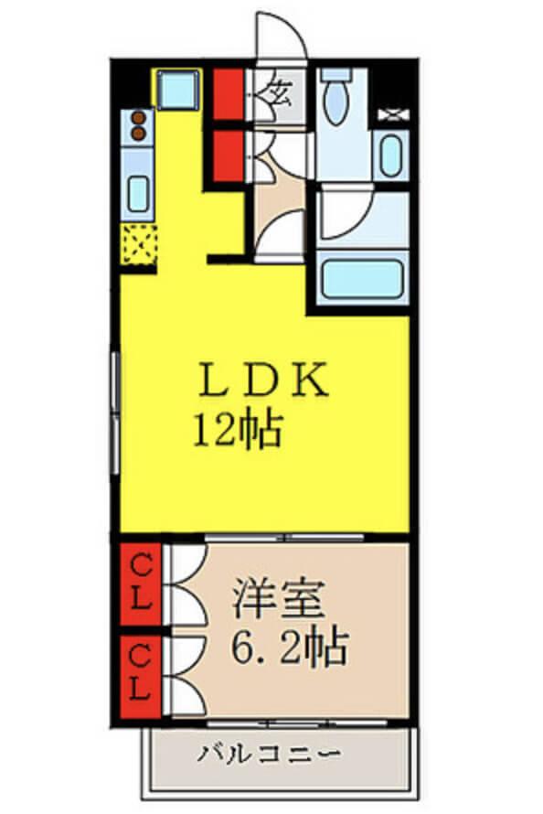 Floor-plan-1LDK