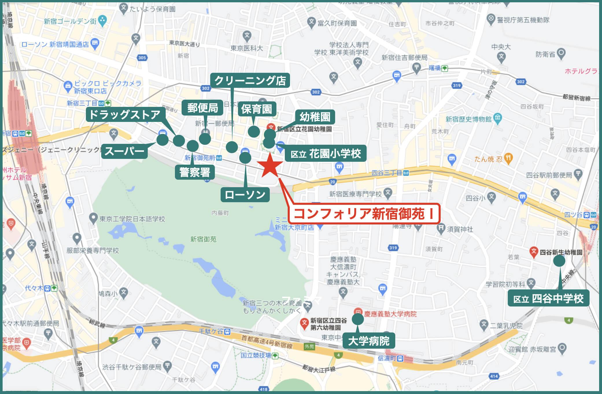 Surrounding-map