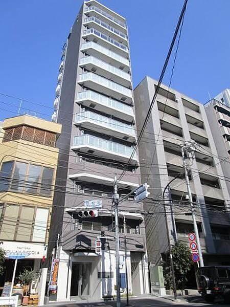 ハーモニーレジデンス早稲田夏目坂の外観
