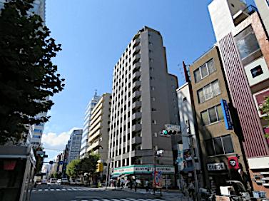 カスタリア新宿の外観
