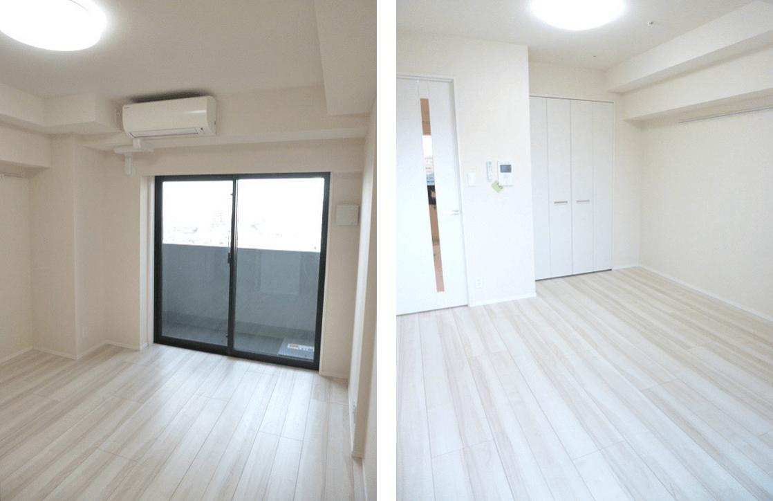 スカイコートヒルズ新宿の室内