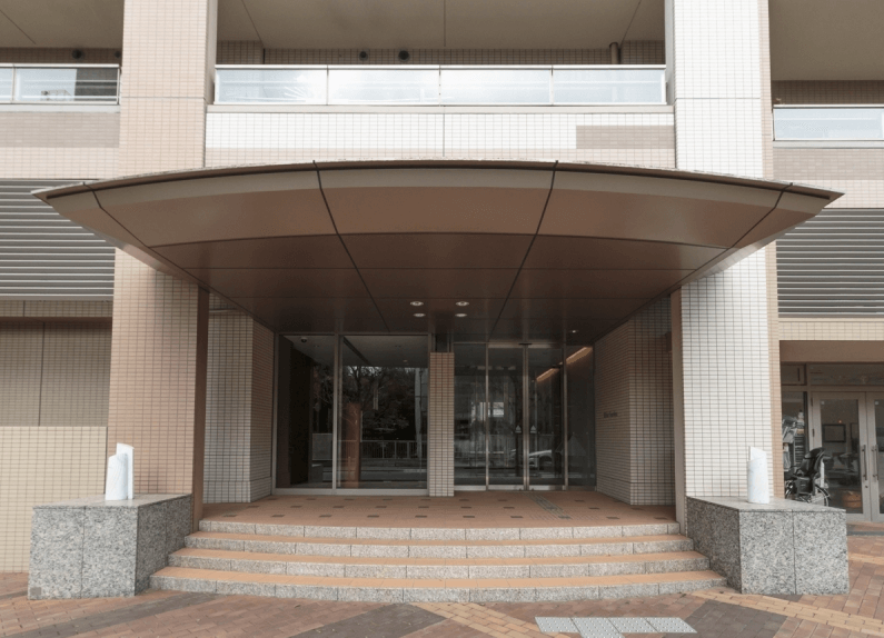 パークコート麻布十番 三田ガーデンのエントランス