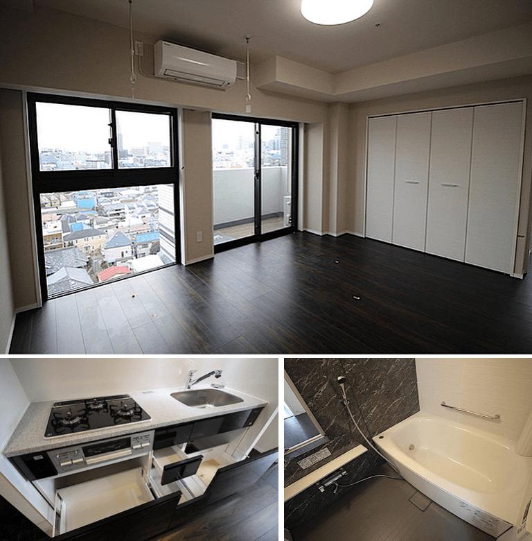プレールドゥーク東新宿Ⅲの室内(1LDK)