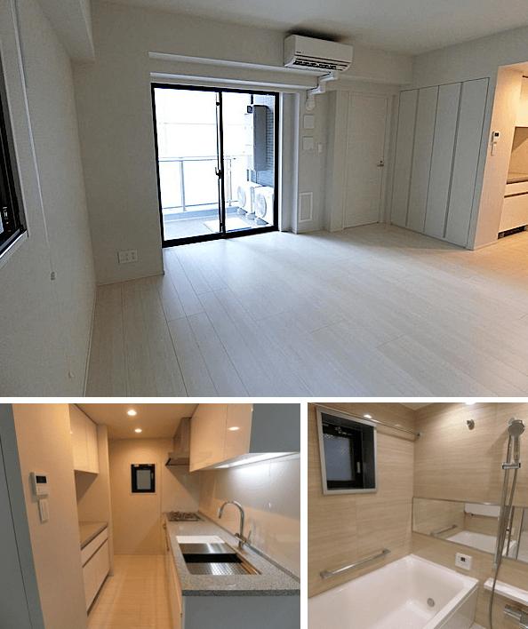 オープンレジデンシア神楽坂並木通りの室内(1LDK)