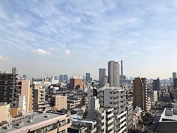 スカイコートヒルズ新宿の眺望(1LDK)