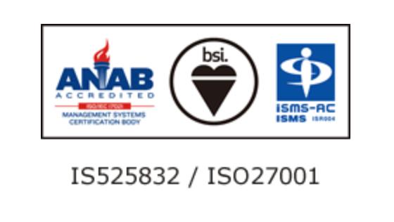 ISO27001のマーク